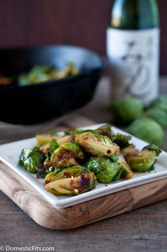 Sweet & Spicy Mirin Caramelized Brussels Sprouts. This is how you convert the haters.