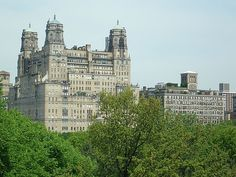 Mandy and friends hangout with in NYC...The Beresford, Central Park West.