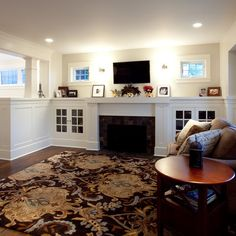 Half Wall Room Divider Design Ideas, Pictures, Remodel and Decor