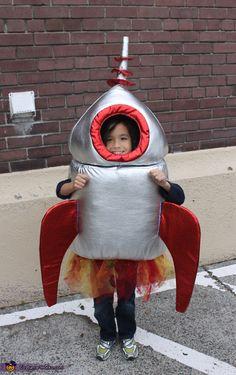 Halloween Blast Off Costume