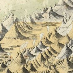 Colton's Comparative Mountains and Rivers Map (1855)