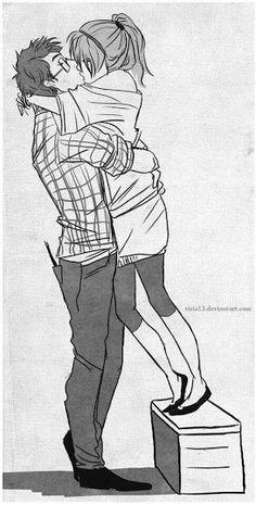 24 Melhores Imagens De Baixinha E Grandão Drawings Of Couples