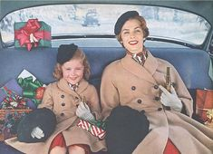 Holiday Shopping - c. 1952