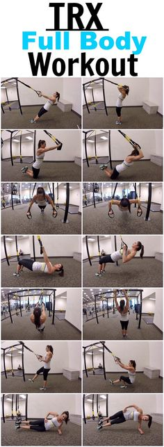 7 Exercises for a full body TRX workout! - - 7 Exercises for a full body TRX workout! 7 Exercises for a full body TRX workout! Fitness Workouts, Trx Full Body Workout, Fitness Hacks, Trx Workout, At Home Workouts, Fitness Motivation, Workout Exercises, Rings Workout, Band Workouts