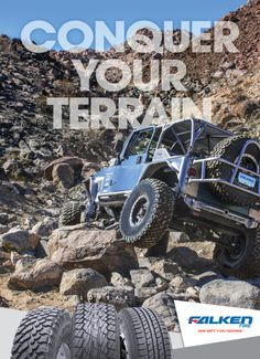 FourWheeler Magazine Advertising,  Conquer Your Terrain