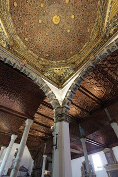 Artesonados de la iglesia de San Facundo y San Primitivo, Cisneros, Palencia.