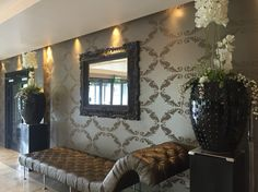Reception at Hotel Kilkenny. Oversized Mirror, Reception, Frame, Furniture, Home Decor, Picture Frame, Decoration Home, Room Decor, Home Furnishings