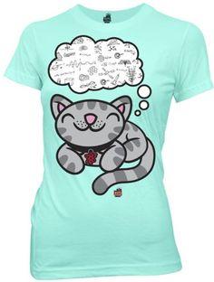 Big Bang Theory Soft Kitty Dreaming of Science « Shirt Add