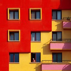 red yellow and pink building apartment architecture design tetris red yellow and pink building apartment architecture design tetris - architecture Architecture Design, Building Architecture, Cubist Architecture, Building Design, Colourful Buildings, Minimalist Photography, Color Photography, Building Photography, Apartment Design