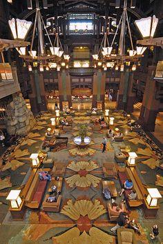 The Grand Californian Hotel - Disneyland Resort, Anaheim, CA Disneyland Hotel, Downtown Disney, Disney Resorts, Disney Vacations, Disney Rides, Disney Disney, Disney Parks, Disney Theme, Disney Grand Californian Hotel