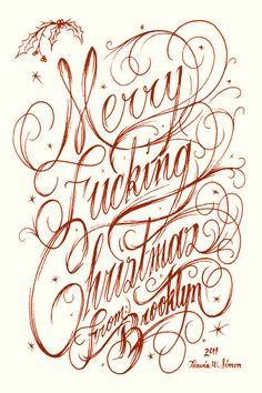 Typography Now! by Travis W. Simon, via Behance