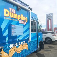 First day back on the road for the season! Come visit us at Sunridge Nissan today from 1230-430pm!! #yycft #yyc #foodtruck #foodtrailer #calgary #thedumplinghero #dumplings #snacks #desserts by thedumplinghero