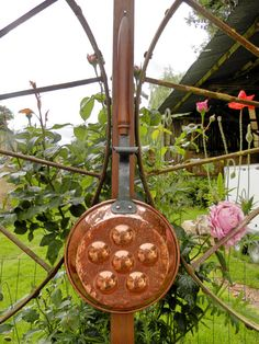 Vintage French Copper Pan. Antique French by AngelFrenchAntiques