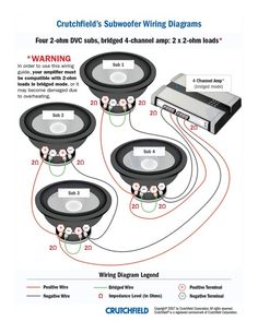 Top 10 Subwoofer Wiring Diagram Free Download 4 SVC 2 Ohm