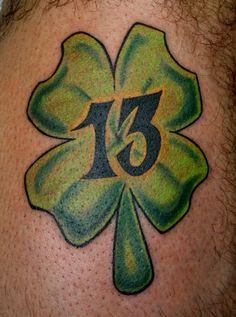 Number 13 Tattoo