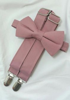 Dusty Rose Groomsmen Suspenders and Bow. Dusty Rose Ring Bearer Suspenders and Bow Tie. Free Fabric Sample Available. Dusty Rose Suspenders and Dusty Rose Bow Tie. Ring Bearer Suspenders, Groomsmen Suspenders, Groom And Groomsmen, Groomsman Attire, Wedding Suspenders, Dusty Rose Wedding, Maroon Wedding, Wedding Suits, Wedding Dresses
