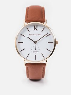 Hoxton – Brown & Rose Gold