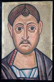 """ΦΩΤΗΣ ΚΟΝΤΟΓΛΟΥ: """"Ο Αγιος Κοσμάς"""" """"Η παρούσα ζωγραφία εφιλοτεχνήθη όπως εν σχήμασι γραπτοίς διαμένη πρό τών ομμάτων εις αιώνα ο κύκλος τής ελληνικής φυλής, από τών πρώτων αυτής προπατόρων μέχρι τών καθ' ημάς…Εζωγραφήθη δέ μετά πόθου καί φιλοτιμίας πολλής φαντασία καί χειρί Φωτίου Κόντογλου τού εκ Κυδωνιών τής Μικράς Ασίας"""" Orthodox Icons, Buddha, Statue, Drawings, Artist, Blog, Painting, Artists, Painting Art"""