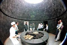 """Restaurante """"El Diablo"""" dentro del Parque Nacional Timanfaya. ( Lanzarote )"""