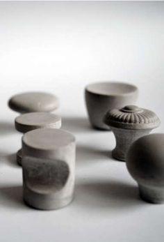 Cement Cabinet Knobs : KAST Concrete Decor