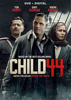 Based on the best selling novel, this action thriller set in 1953 Soviet Russia details an exiled secret police agent (Tom Hardy) relentlessly hunting for a serial killer who targets young boys. His i