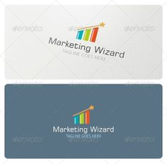 Marketing Wizard Logo is highly suitable for marketing company, analyst, consultancy, broker, sales department, SEO company, trader, software, app and many other.