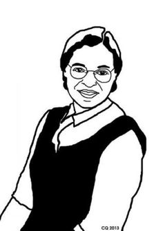 Black History Month Coloring Page