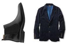 Bass Chelsea & JACS cord blazer