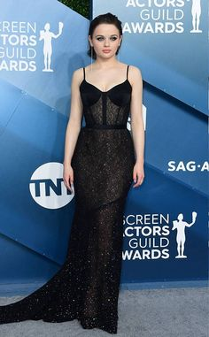 Joey King from SAG Awards 2020 Red Carpet Fashion In Jason WuYou can find Red carpet dresses and more on our website.Joey King from SAG Awards 2020 Red Carpet Fashi. Jane Seymour, Rihanna Red Carpet Dresses, Red Carpet Gowns, Celebrity Red Carpet Dresses, Best Red Carpet Dresses, Black Dress Red Carpet, Ellie Saab, Joey King, Elegant Dresses