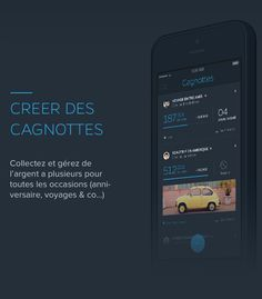 FLOOZ APP by Barthelemy Chalvet, via Behance