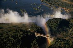 Cataratas Vitória, Zâmbia.