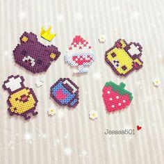 Rilakkuma perler beads by  craftsmood2