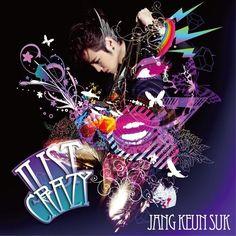 """Jang Keun Suk """"Just Crazy"""" Album Cover"""