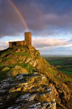 Brentor, Dartmoor National Park, Devon, England, UK.  Photo via rosemary.