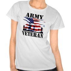 USA Army Veteran Shirt. GET IT ON : http://www.zazzle.com/usa_army_veteran_shirt-235533923400451301?rf=238054403704815742