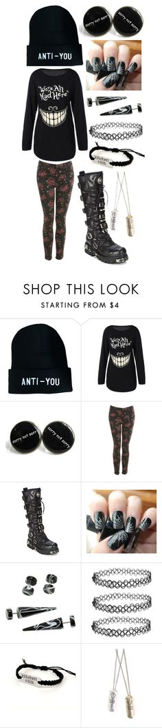 """""""Untitled #199"""" by tylerjoseph-890 ❤ liked on Polyvore featuring Miss Selfridge and New Rock"""