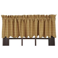 VHC Brands Amherst Scalloped Lined Curtain Valance & Reviews | Wayfair