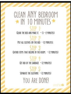 The easy way to clean a room + Free checklist for .The easy way to clean a room + Free checklist for cleaning to print PDF Wellella - Print Checklist of The How Cleaning My Room, Deep Cleaning Tips, House Cleaning Tips, Spring Cleaning, Cleaning Hacks, Bedroom Cleaning Tips, Room Cleaning Checklist, Cleaning Challenge, Weekly Cleaning
