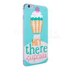 iPhone 6 cupcake hey you serisi silikon kılıf