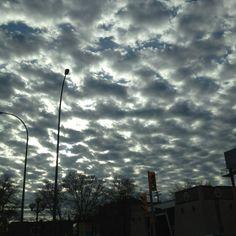 Funky clouds (Winnipeg, MB)