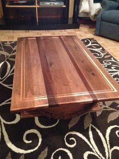 custom made wine barrel coffee table | whiskey barrels | pinterest