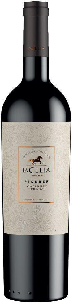 """""""Pioneer"""" Cabernet Franc 2014 - Bodega Finca La Celia, San Carlos, Mendoza----------------------Terroir: Paraje Altamira (San Carlos)-------------------Crianza: 80% del vino tiene de 9 a 12 meses de crianza en barricas y staves de Roble Francés y Americano"""