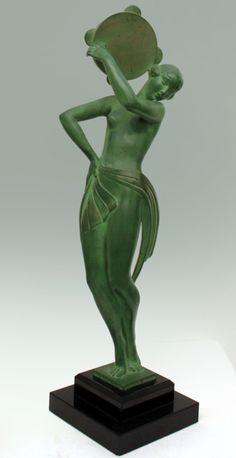 Art Nouveau Statue jj