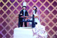Muñecos de Torta #anamariaeventos #bodas