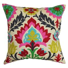 In-law - Bright pillows for couch or accent chair.