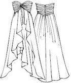 Moldes gratis para vestidos