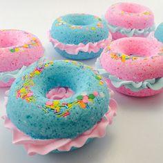 VelvetMoonStudio Donut Bath Bombs - BestProducts.com