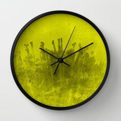 Fuego 1 Wall Clock #wallClock  #art #orologioAMuro #giftIdeas #ideaRegalo #orologio #homeDecor #grungy #trendy