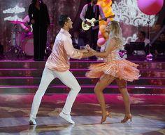 Watch Sasha Pieterse and dancing partner Gleb dancing the Samba on DWTS