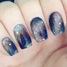 Galaxy nails by nailnap